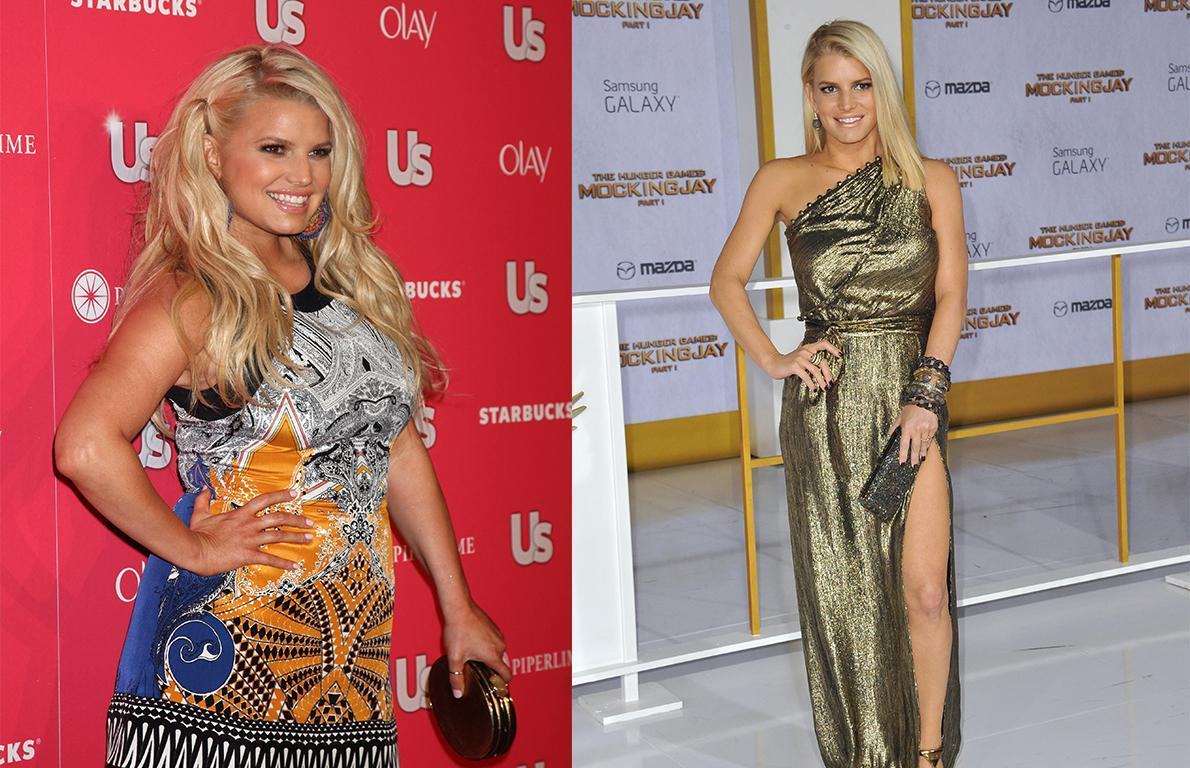 Jessica Simpson from The 15 Most Inspiring Celebrity ...