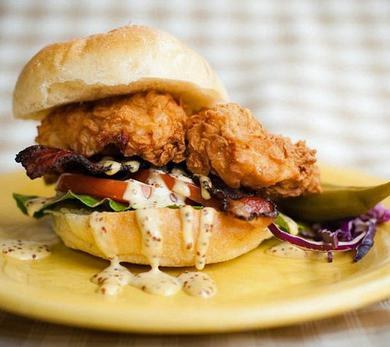 Southern Fried Chicken BLT