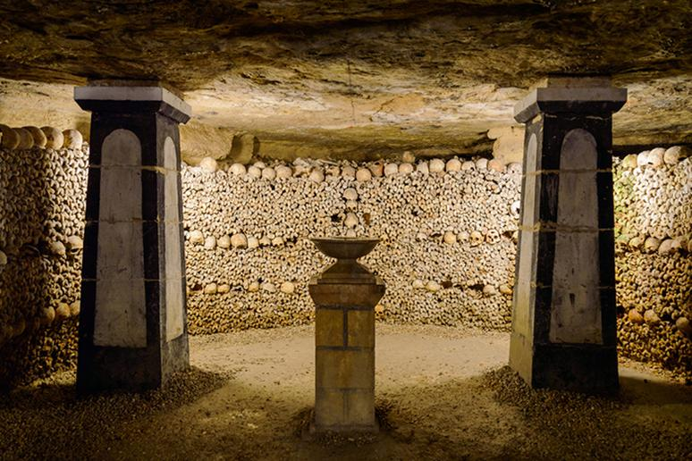 Catacombs, Paris, France