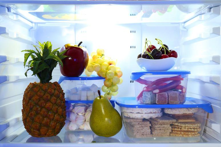 Store Food in Clear Containers