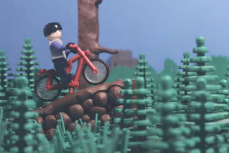 WATCH: Lego Man Shreds in this Incredible Stop Motion   The