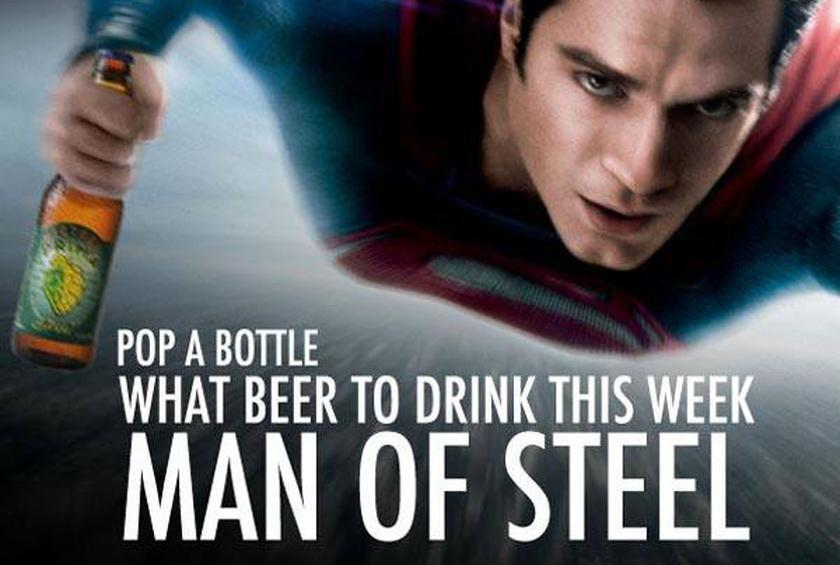 Beer to Drink | Man of Steel |