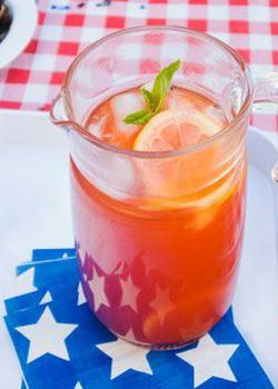 fourth of july, 4th of july, cocktail, recipe, party, party ideas