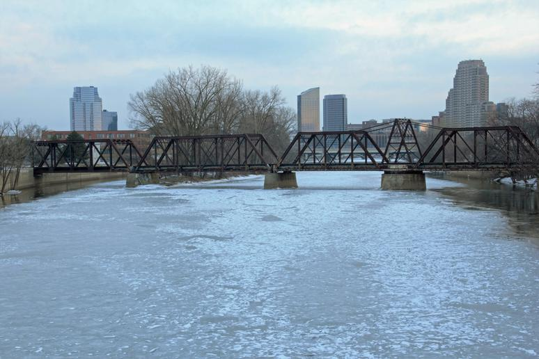 No. 7: Grand Rapids, Mich. (Avg. Yearly Snow: 75.3 inches)