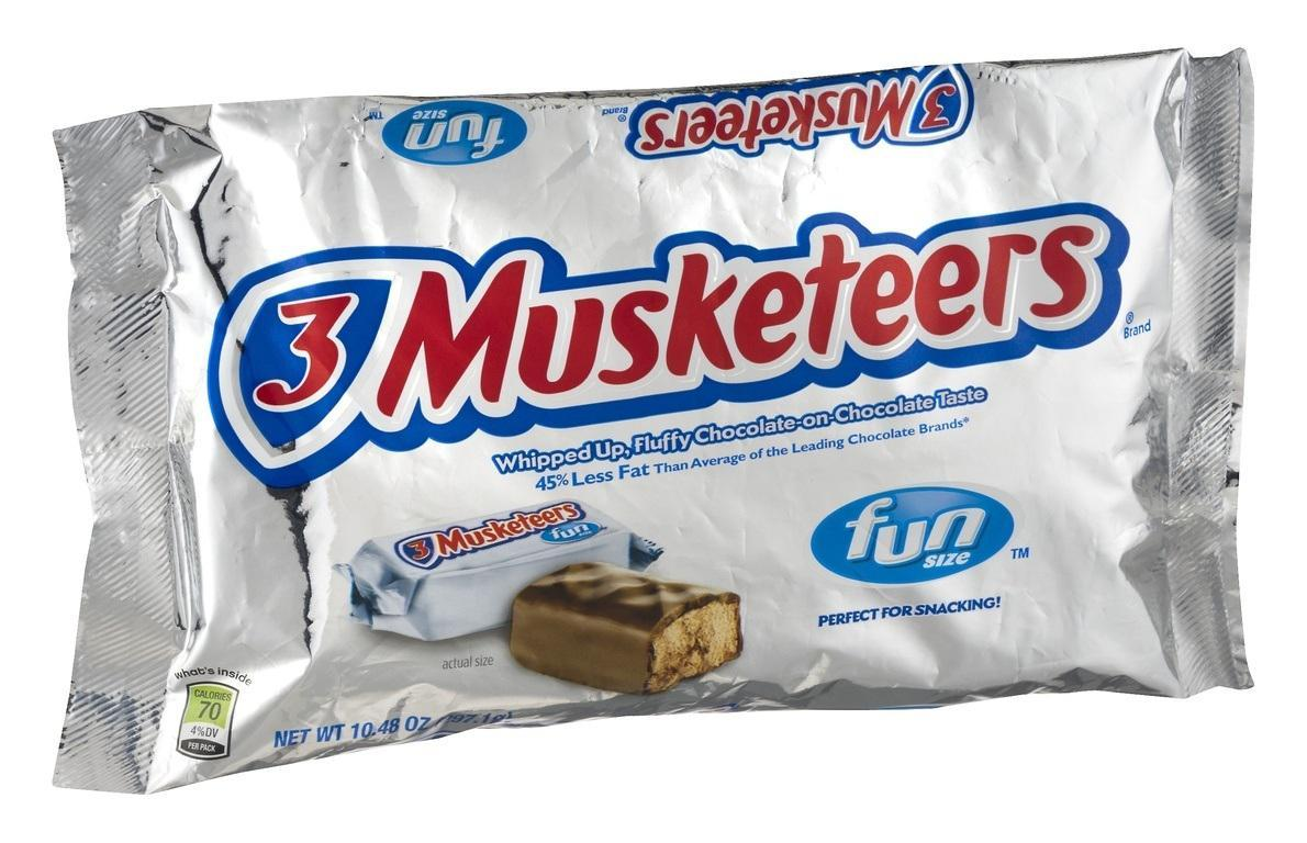 3 Musketeers from 20 Healthiest and