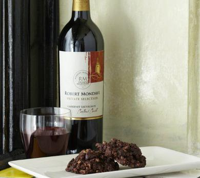 Cabernet Cherry Chocolate No-Bake Cookies