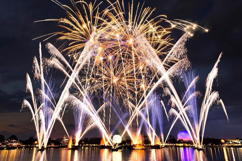 New Fireworks at Epcot