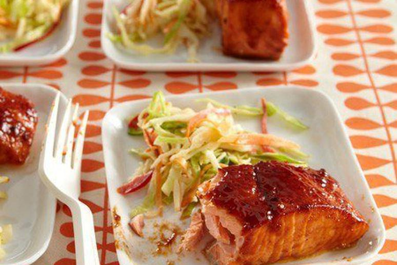 Sweet Broiled Salmon