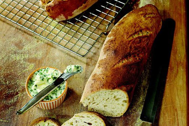 Anyone-Can-Make Great Crusty Baguettes