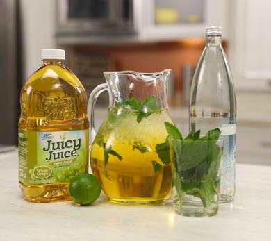 White Grape Mint Spritzer