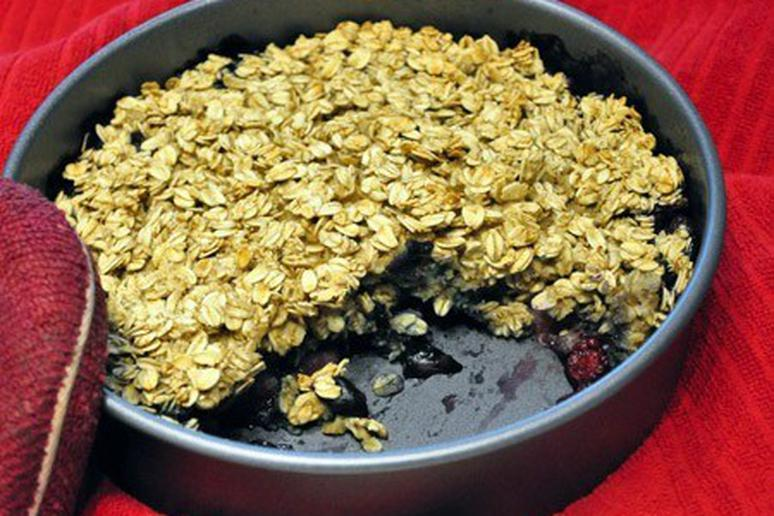 Berry Baked Oatmeal