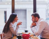 Gone is the age of the buttoned-up first date.