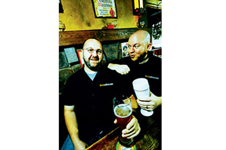 Americas 30 most powerful people in drink slideshow 30 jason and todd alstrm founders beeradvocate malvernweather Choice Image