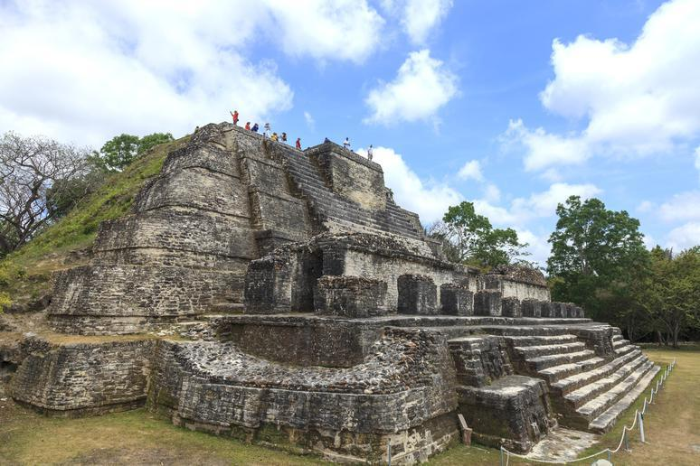 Climb ancient ruins in Belize