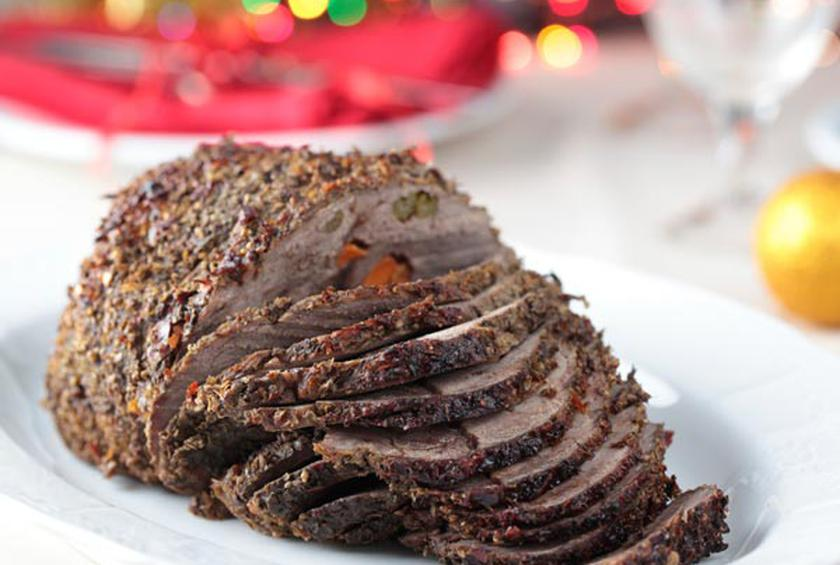 how to cook a christmas roast