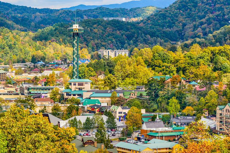 40. Gatlinburg, Tennessee