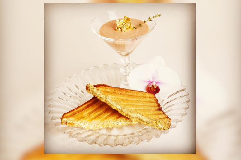Grilled Cheese: Quintessential Grilled Cheese, Serendipity 3, New York: $214
