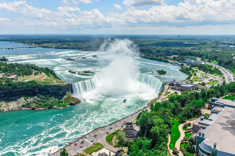Niagara Falls, Ontario and New York