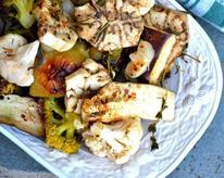 Roasted Vegetables with Cider and Coriander