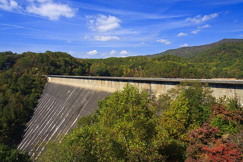 Fontana Dam town, North Carolina