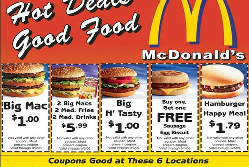 How To Get Free Mcdonalds Coupons