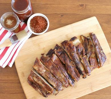 Beer-Basted Baby Back Ribs
