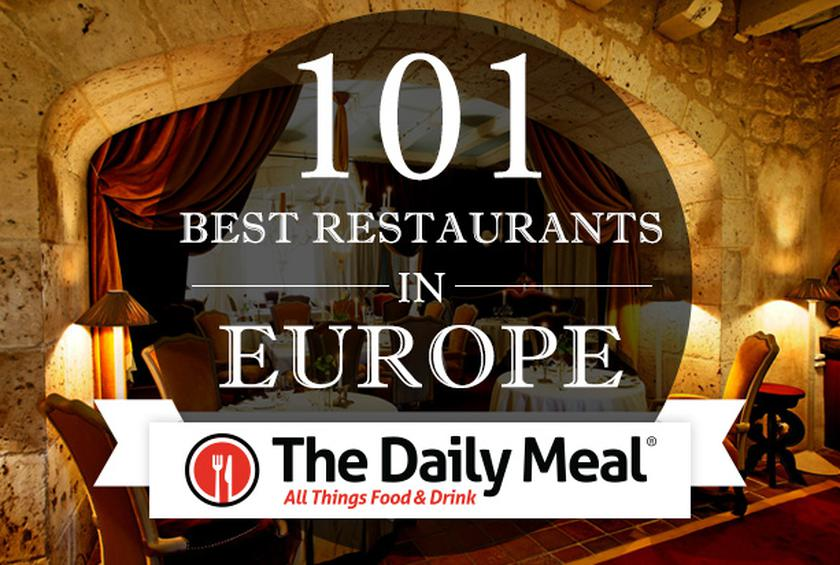 101 Best Restaurants In Europe 2014