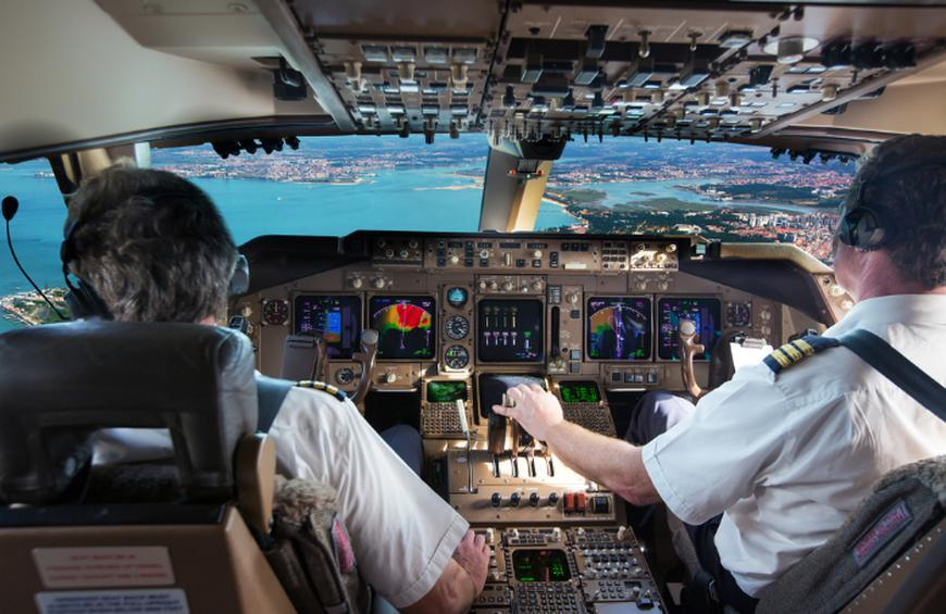 Pilots are retraining all the time