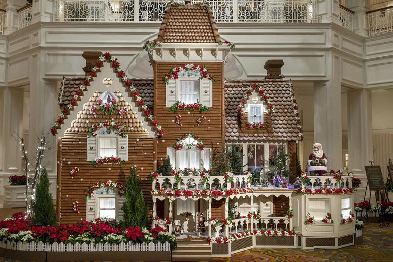 Giant Gingerbread Houses