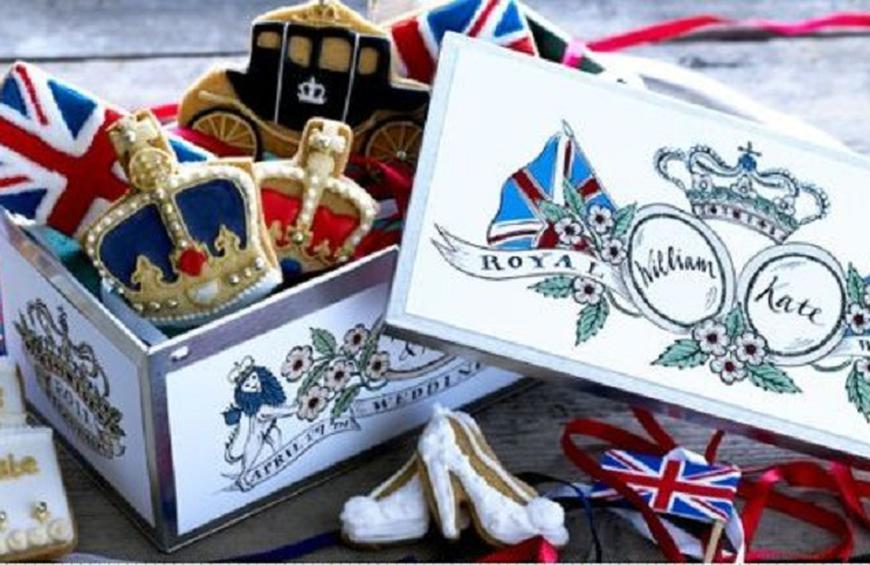 Royal Wedding Shortbread Tin From The Funny Foods Inspired
