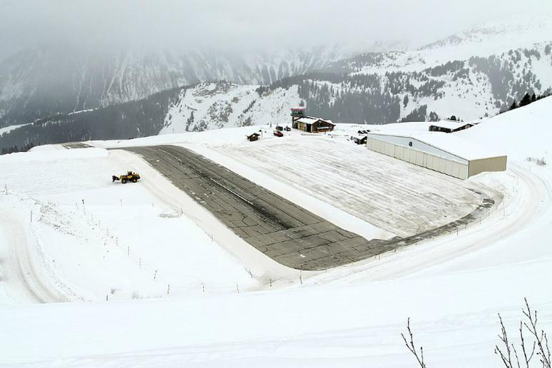 Courchevel International Airport, France