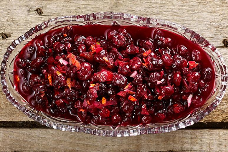 Lime and Honey Cranberry Sauce