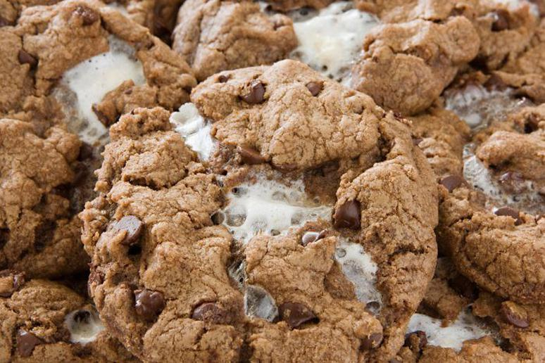 Toasted Marshmallow and Nutella Chocolate Chip Cookies