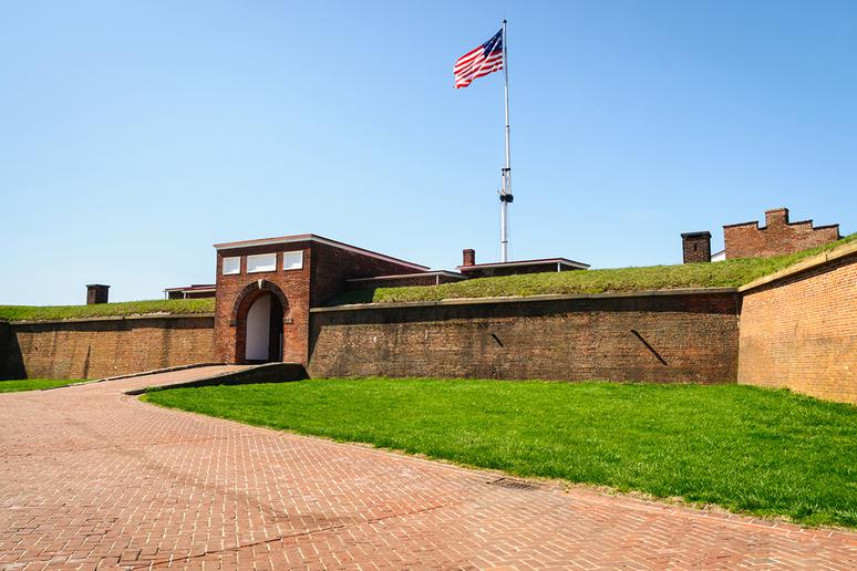 Maryland: Fort McHenry National Monument