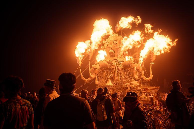 Participating in Burning Man in Nevada