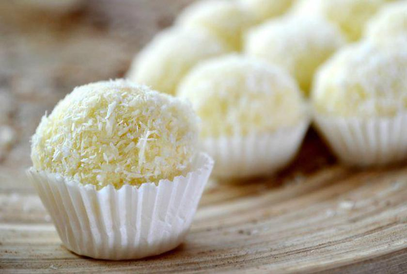 Coconut-Covered Brigadeiros