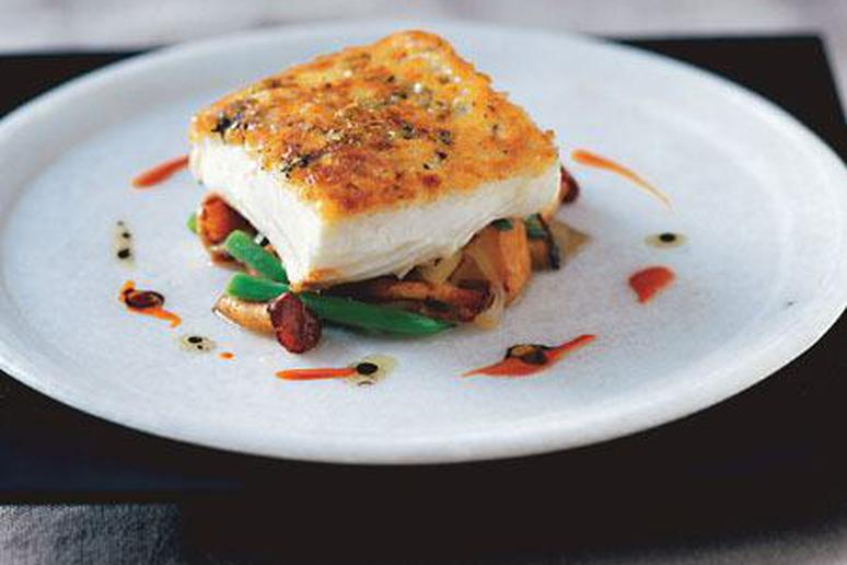 Potato Crusted Halibut