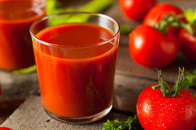 Tomato juice in the morning, anyone?