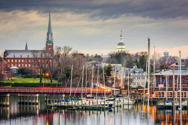 38. Annapolis, Maryland