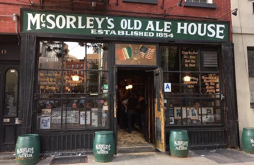 New York: McSorley's Old Ale House (New York City)
