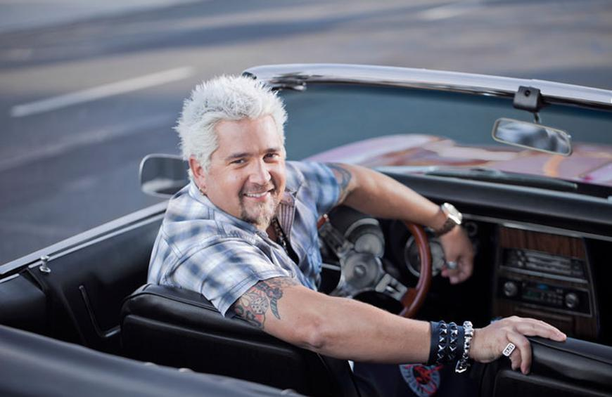 14 Things You Didn't Know About Guy Fieri's 'Diners, Drive-Ins and on