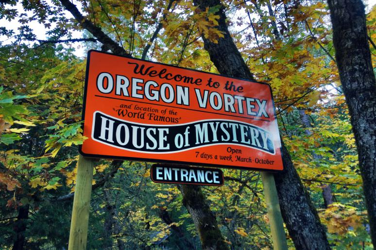 Oregon Vortex, Oregon