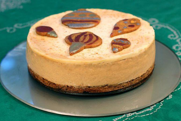 Gingerbread Latte Cheesecake