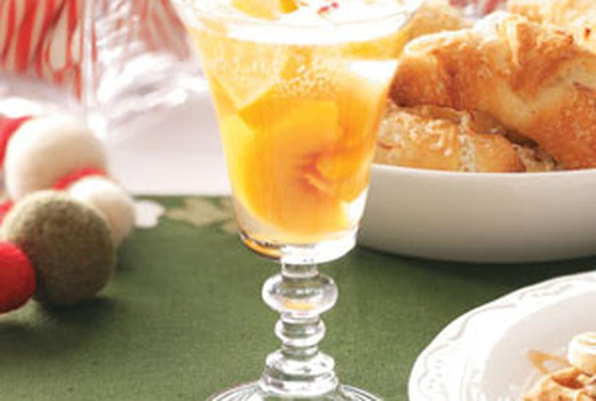 Peach Wine Coolers By Taste Of Homes Holiday Celebrations