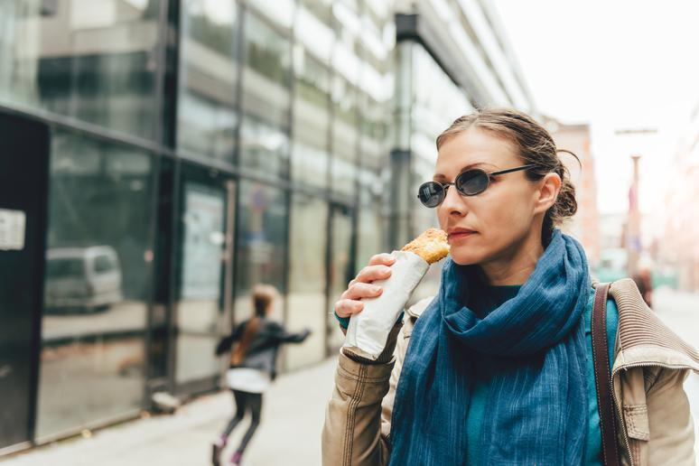 Most foods are considered on-the-go, even if they're not
