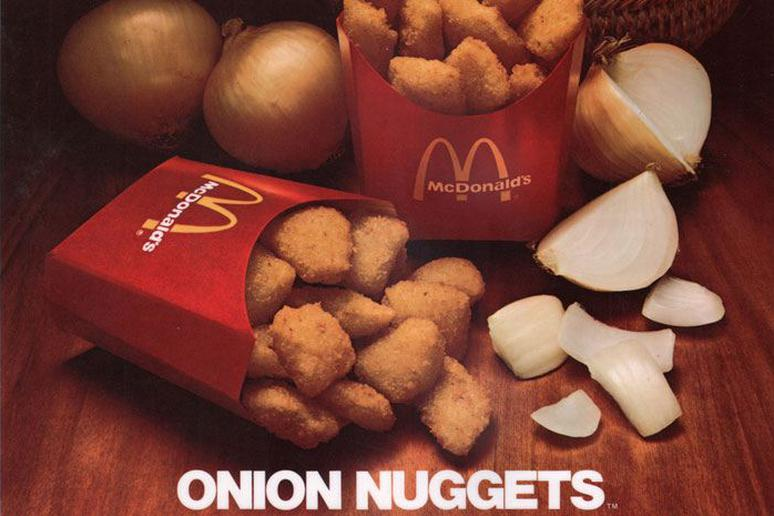 Discontinued Fast Foods