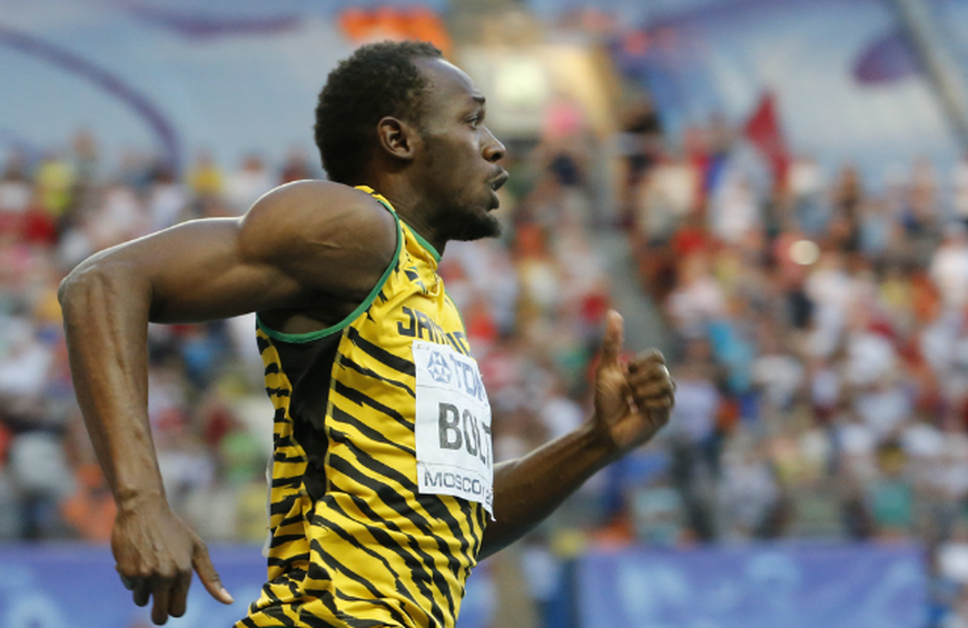 Usain Bolt Sprinter From The Crazy Training Diets Of 10 Elite Athletes The Active Times