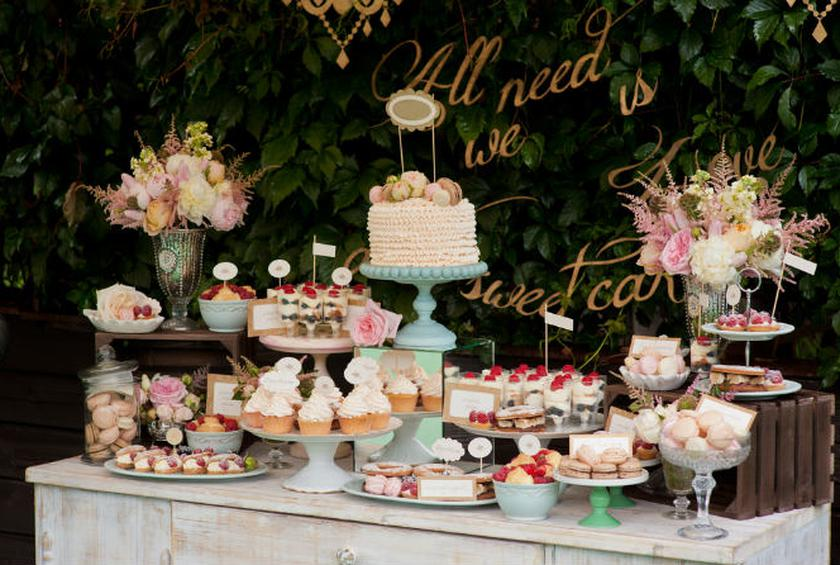 Make a dessert table so fabulous your guests will forget the wedding dessert table tips junglespirit Gallery