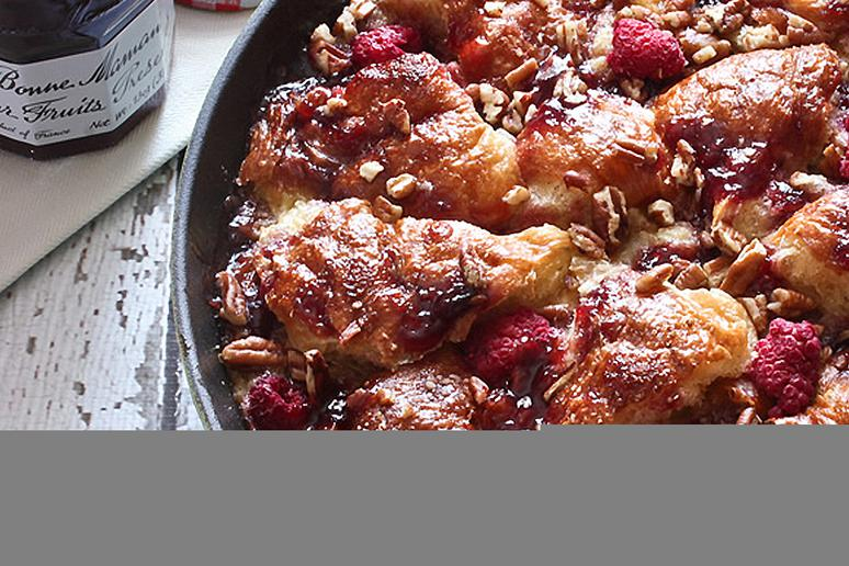 Bonne Maman Skillet French Toast and Preserves Casserole