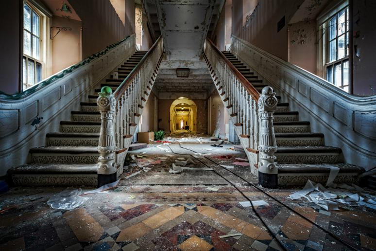 stories behind abandoned places the active times
